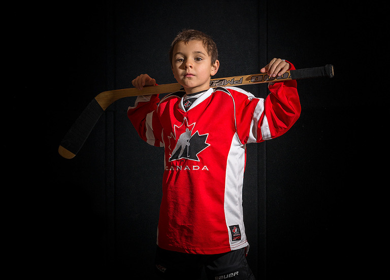 Minor Hockey Portrait Team Canada Barrie