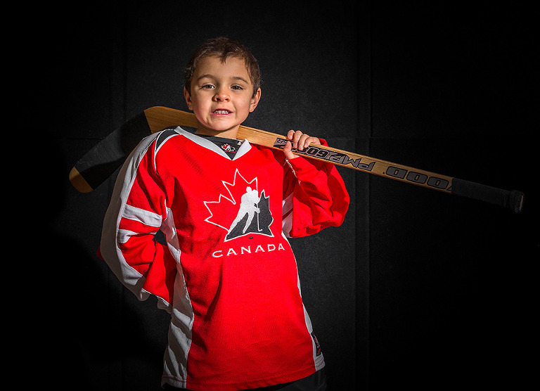 Minor Hockey Portraits Team Canada Sochi 2014