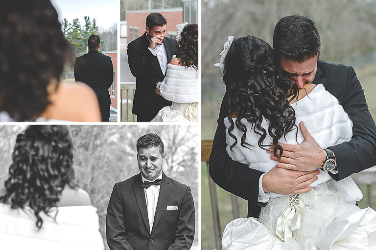 The doctors house wedding in kleinburg first look wedding photos reveal junglespirit Images