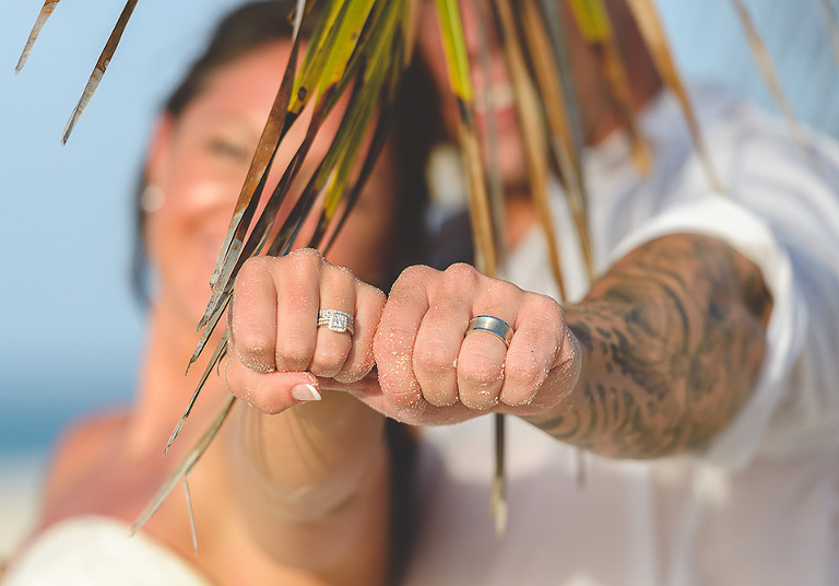 Wedding ring shot photo