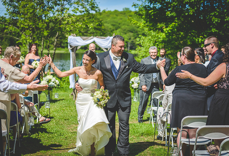 Trillium Resort Wedding Ceremony photo