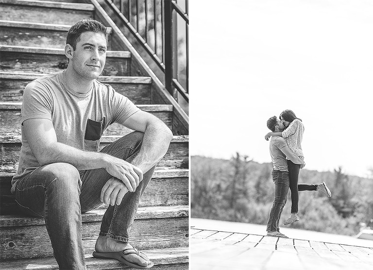 Discovery Harbour Engagement Photos with Sadie and Kyle
