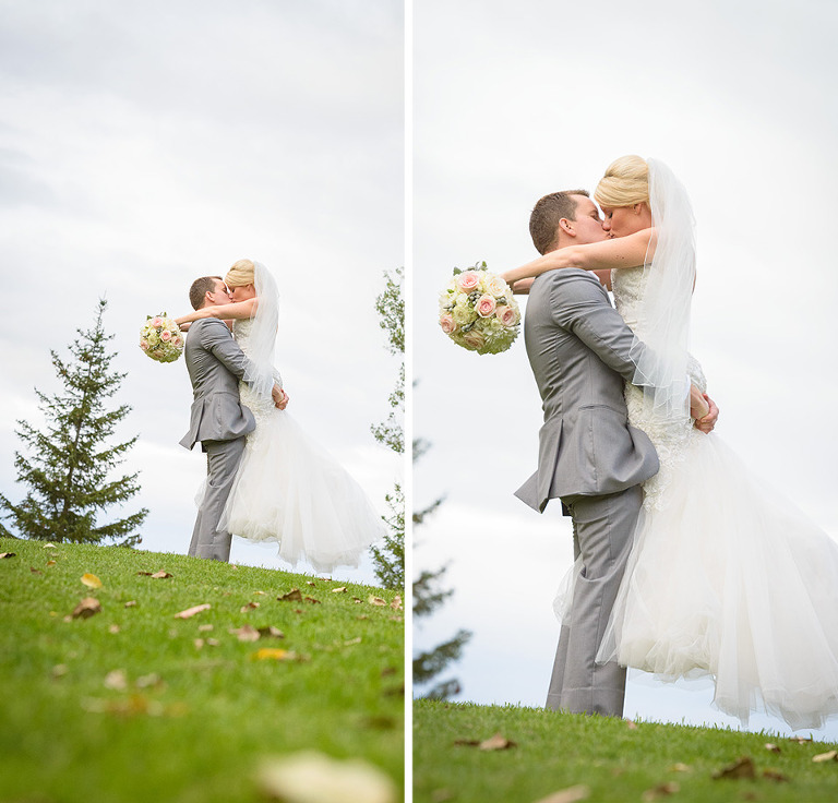 Wedding photos at Barrie Country Club