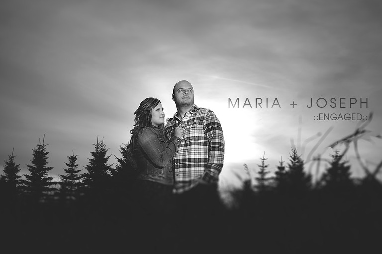 Fall Engagement photographer in Barrie Ontario