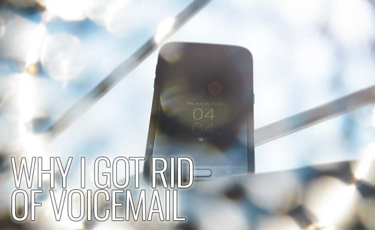 Why I got rid of voicemail