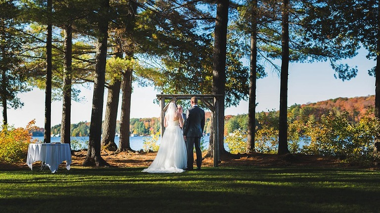 Sherwood Inn Elopement in Muskoka
